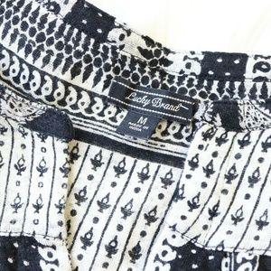 Lucky Brand Tops - Lucky Brand Black Paisley Long Sleeve Blouse